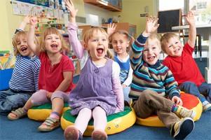 дошкольники в частном детском саду