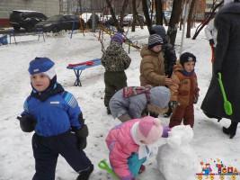 """""""Детский клуб """"Тёма"""" - наши зимние прогулки"""""""