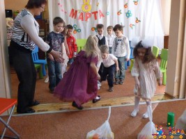 """Утренник 8 Марта в Детском Клубе """"Тёма"""""""