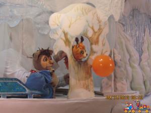Кукольный спектакль в День рождения в Детском клубе Тёма