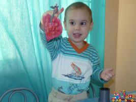Тестопластика в Детском клубе Тёма
