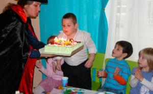 Организация и проведение детского Дня рождения в Детском Клубе
