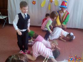 Выпускной вечер в Детском Клубе Тёма