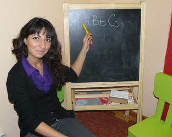 изучение английского языка детьми в группе