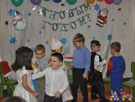 """Новогодний утренник в Детском клубе """"Тёма"""""""