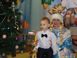 Новогодний утренник в Детском клубе Тёма, младшие группы полного дневного пребывания
