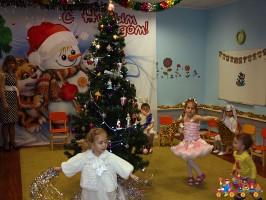 Новогодний утренник в Детском клубе Тёма, старшие группы полного дневного пребывания