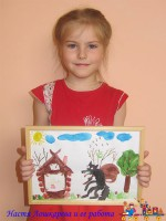 Лошкарева Анастасия и ее работа, занявшая 1 место