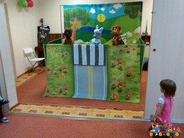 """Изучение правил дорожного движения в частном детском саду """"Тёма"""""""