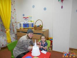 Новогодний мастер-класс в частном детском саду ТЁМА