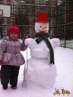 Прогулка с первым снегом